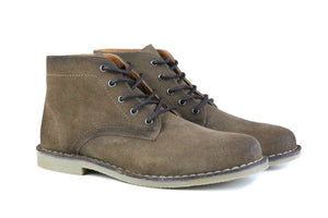 The Grover | Burnished Tobacco Suede-Hound & Hammer-Mercantile Americana