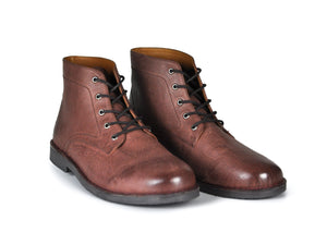 The Grover | Oxblood Leather-Hound & Hammer-Mercantile Americana