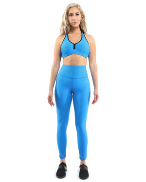 The Spring Sky Activewear Set with Leggings & Sports Bra-Savoy Active-Mercantile Americana