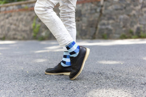 Traditional Blocks Socks-Socks n Socks-Mercantile Americana