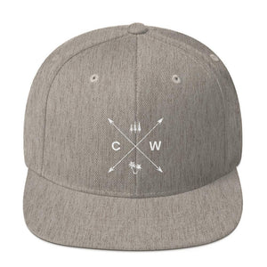 Tree Cross Snapback Hat-Coastal Wilderness-Mercantile Americana