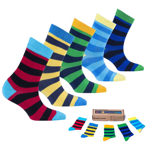 Trendy Stripes Socks-Socks n Socks-Mercantile Americana
