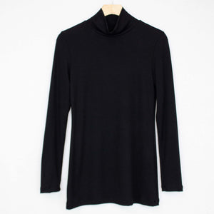 Turtle Neck Long Sleeve Top-Stylespect-Mercantile Americana
