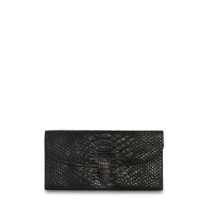 Wealthy Leather Wallet -Black-ClaudiaG Collection-Mercantile Americana