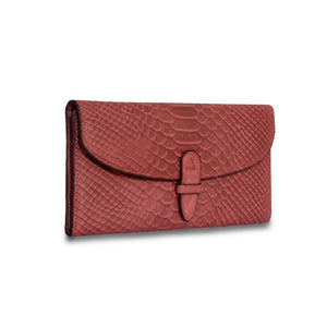 Wealthy Leather Wallet -Red-ClaudiaG Collection-Mercantile Americana