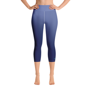 Women's Active Comfort Sport Hyper Drive Capri Leggings-Find Your Coast-Mercantile Americana
