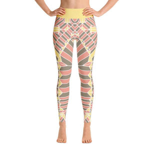 YOGA LEGGINGS – WISHFUL THINKING-Philipp Sidler-Mercantile Americana
