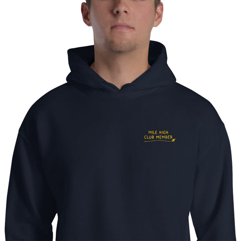Mile High Club Member Hoodie