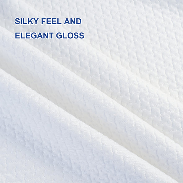 silky feel and elegant gloss