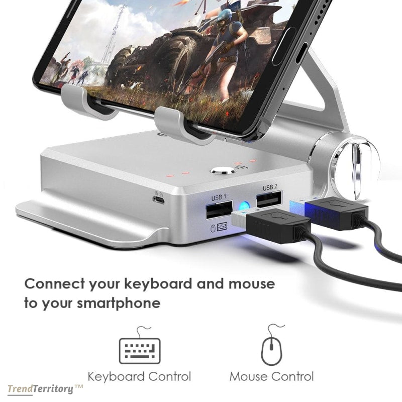 Battledock Converter Stand Gamepad With Phone Holder Gamepads