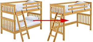 How to turn your bunk bed into a loft bed