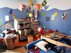 Keeping your kids' room tidy