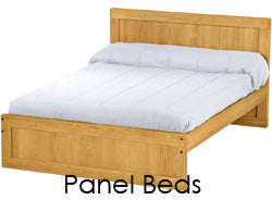 Panel style bed