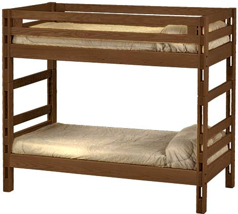 Ladder end bunk bed