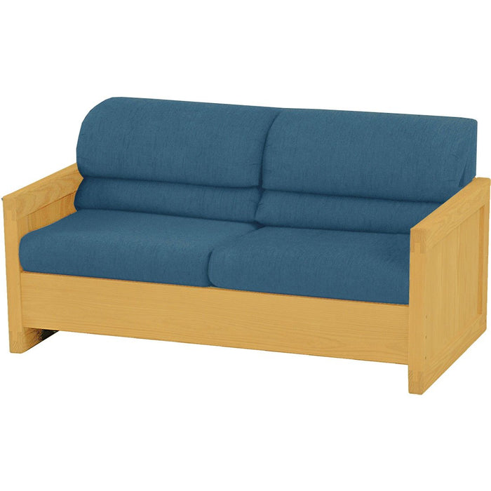 Sofa bed, full size - Naugahyde vinyl