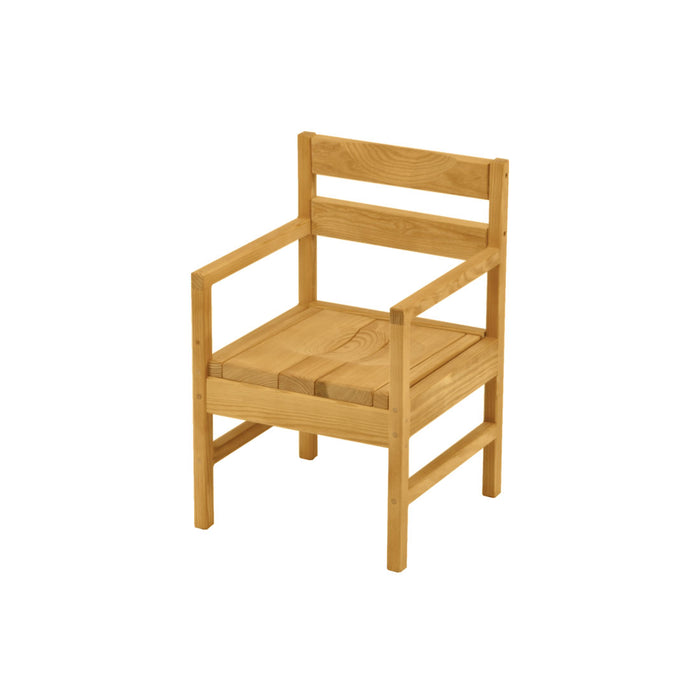 Dining Arm Chair - Wood Seat and Back