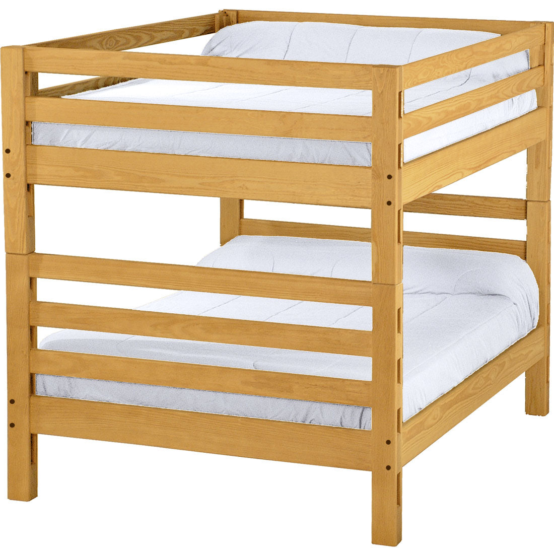 Picture of: Ladder End Bunk Bed Full Over Full Crate Designs Furniture
