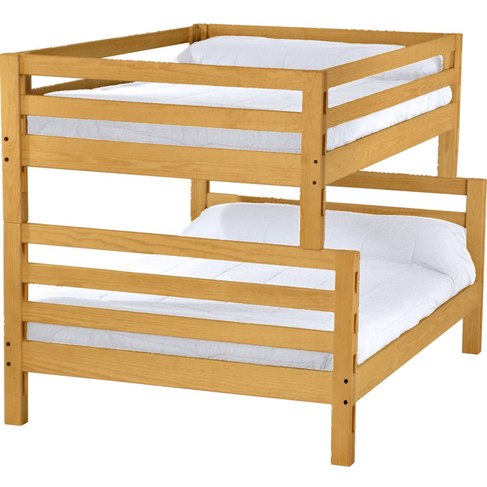Ladder end bunk bed. FullXL over queen.