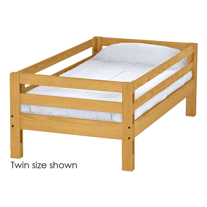 Ladder end upper bunk bed. Twin size.