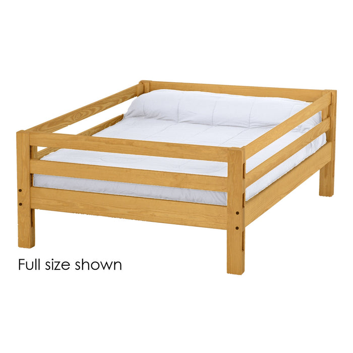 Ladder end upper bunk bed. Queen size.