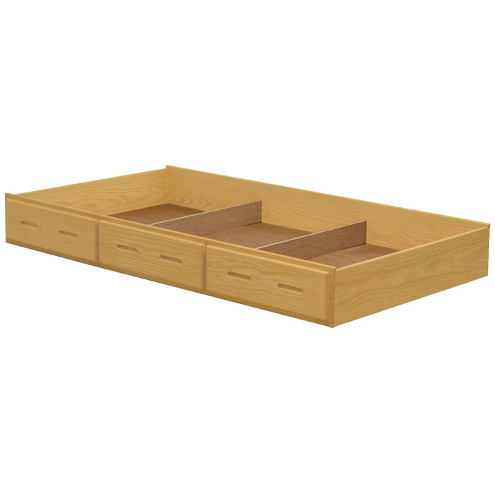 Trundle bed/drawer.