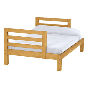Ladder End Lower Bunk Bed. Full Size, Cutaway.