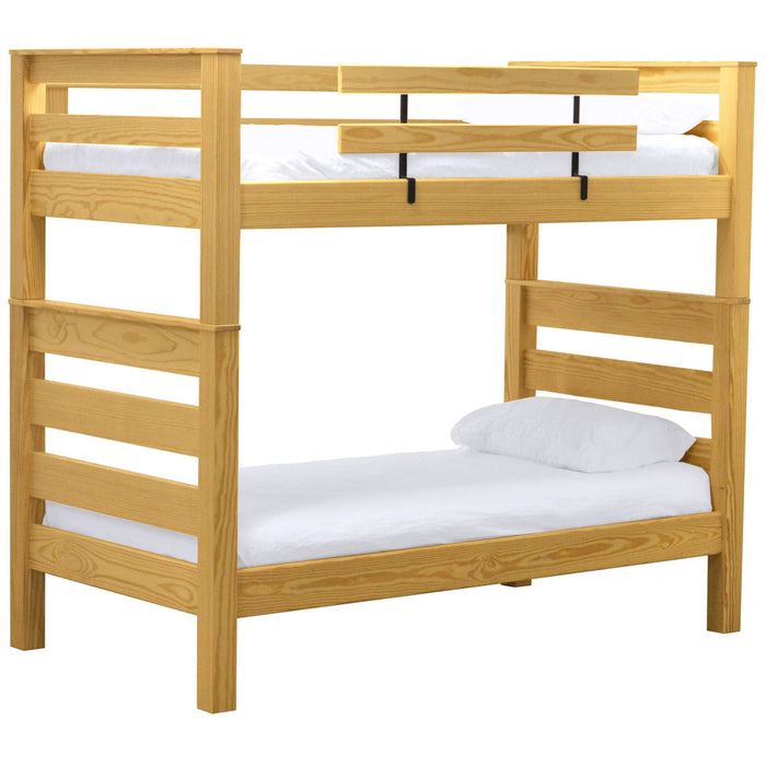 TimberFrame Bunk Bed. Twin Over Twin.