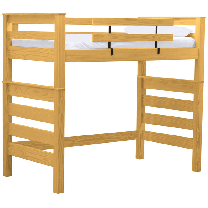 Timberframe loft bed. Full size