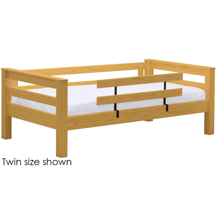 TimberFrame upper bunk bed. Full size
