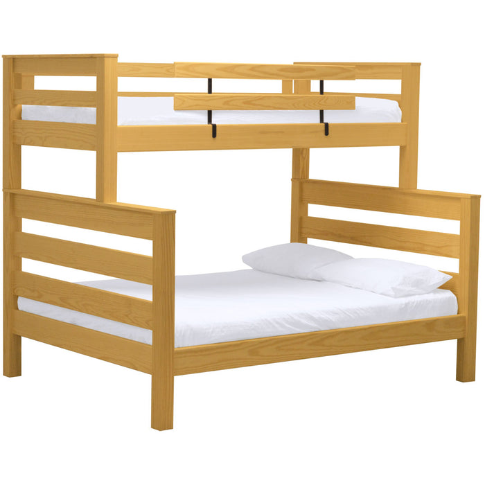 TimberFrame bunk bed. TwinXL over queen.