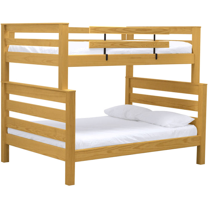 TimberFrame bunk bed. FullXL over queen.