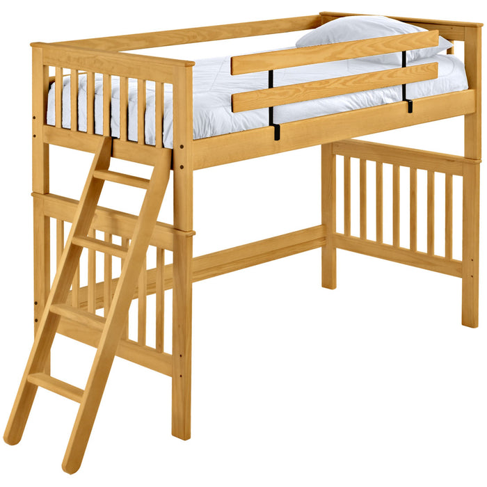 Mission loft bed. Queen size.