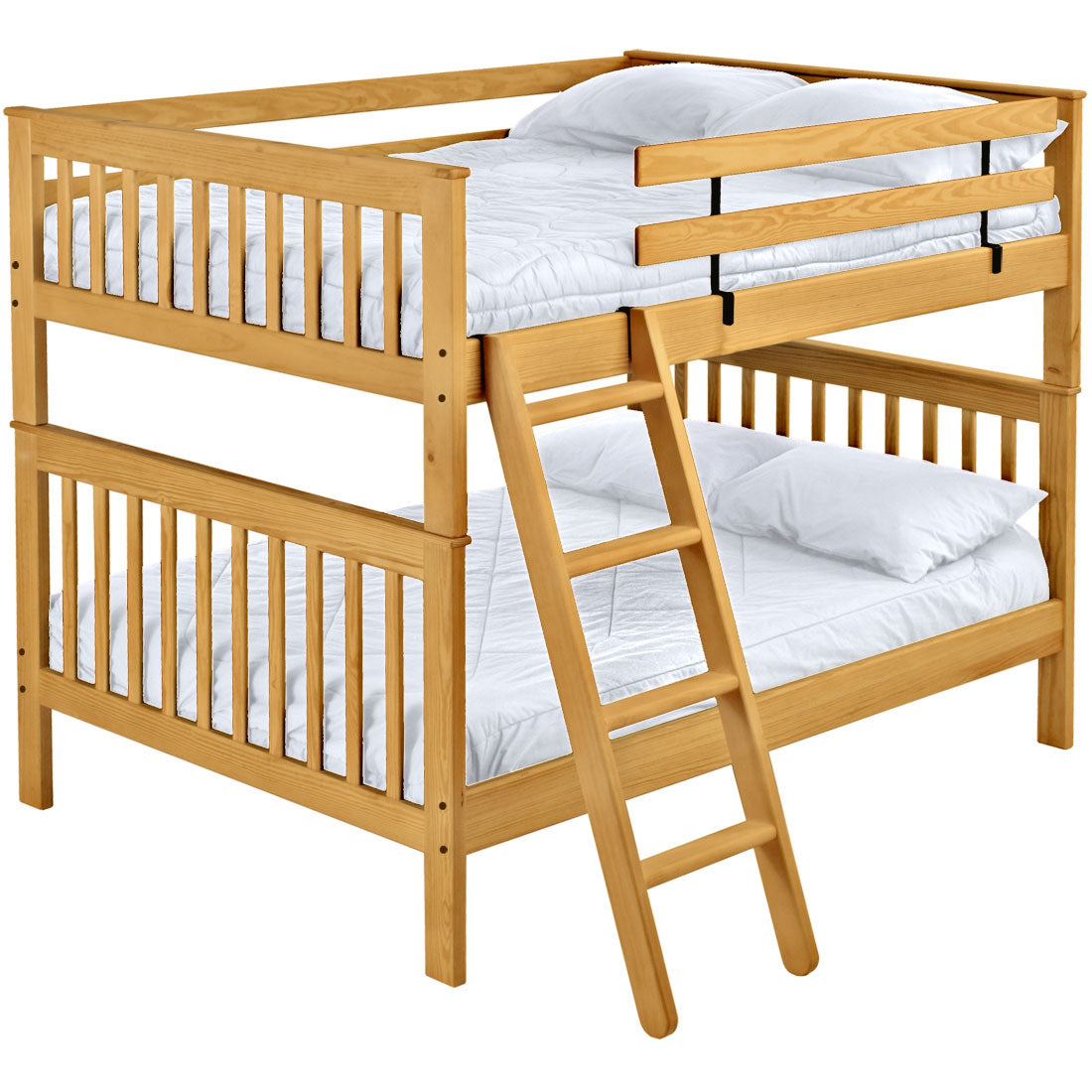Picture of: Mission Bunk Bed Queen Over Queen Crate Designs Furniture