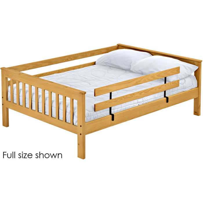Mission upper bunk bed. Queen size.