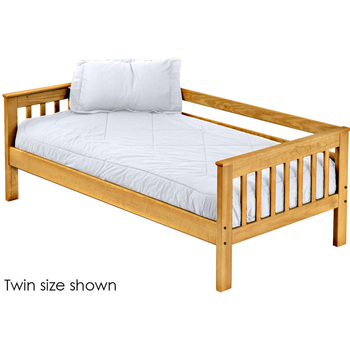 Mission day bed. 29in high. Queen size.