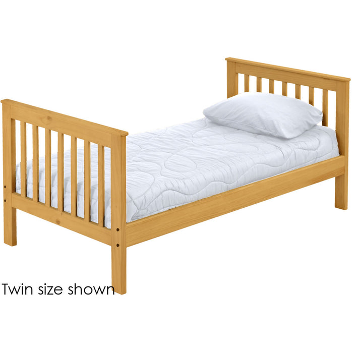 Mission lower bunk bed. Twin size.