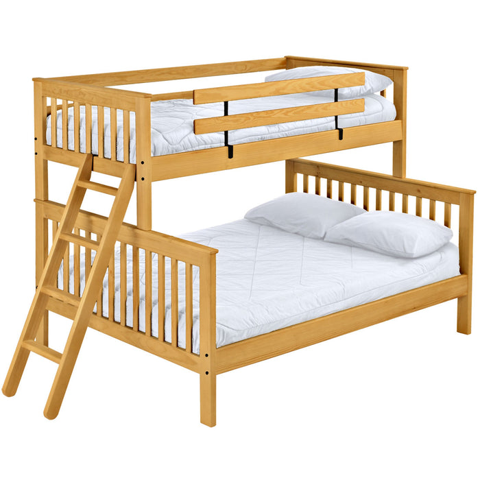 Mission Bunk Bed. TwinXL Over Queen