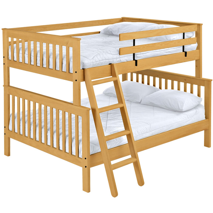 Mission bunk bed. FullXL over queen.