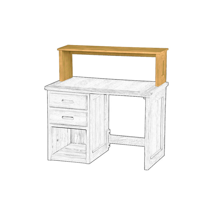 Desk shelf, 42in wide