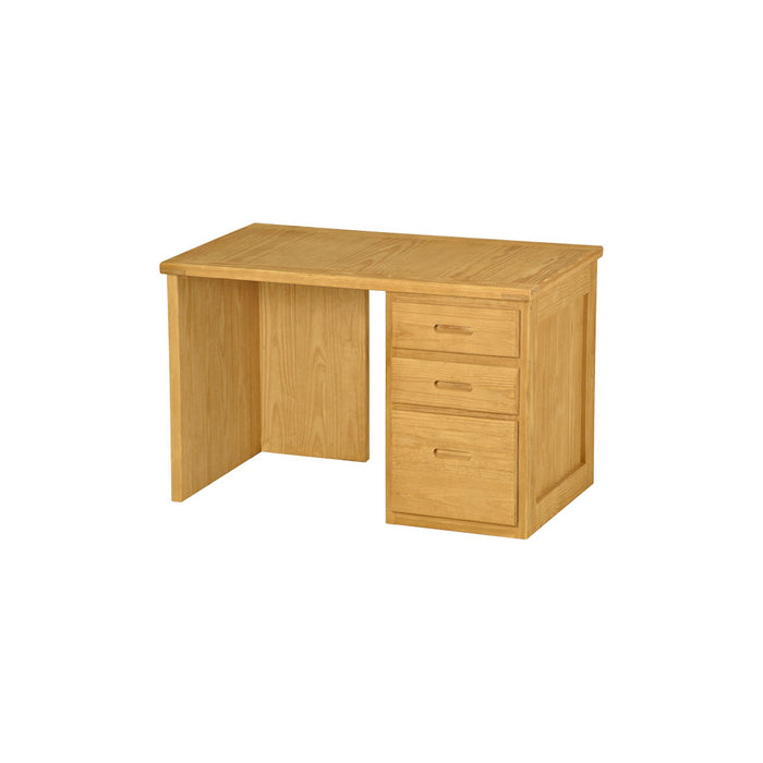 Desk, 46in, 3 drawers right side
