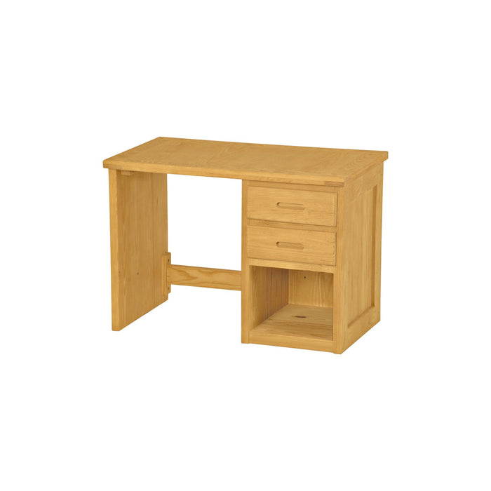 Desk, 42in, 2 drawers right side