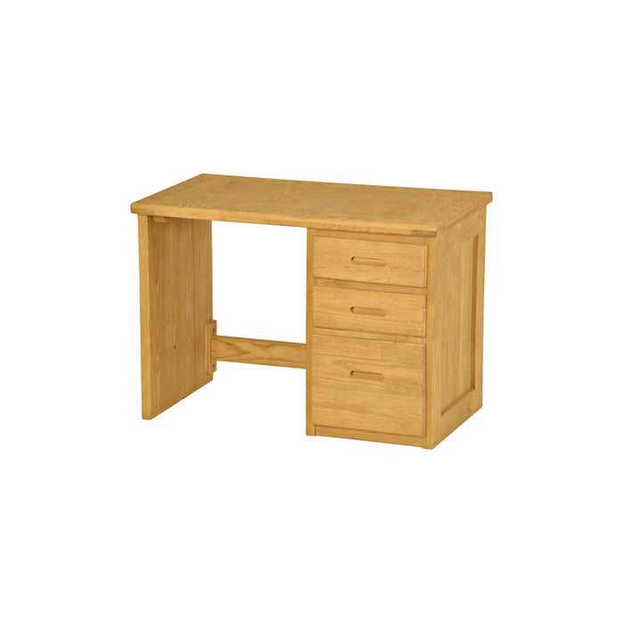 Desk, 42in, 3 drawers right side