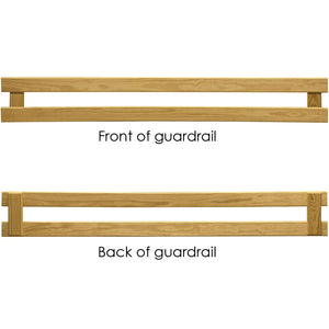 Guardrail, slide-in. Choose from 6 colours.