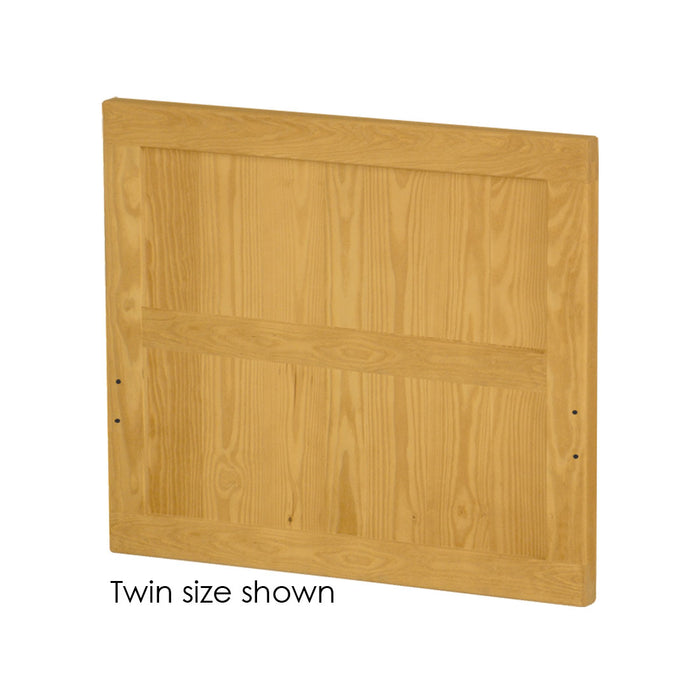 Headboard, Panel style, twin size. Choose from 6 colours & 5 heights.