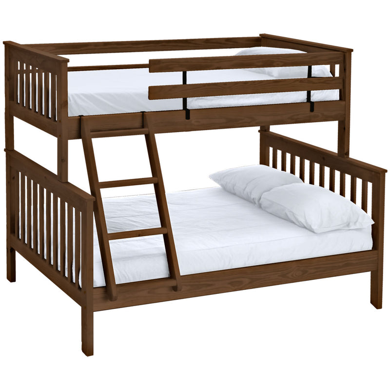 Mission Bunk Bed Twin Over Full Crate Designs Furniture
