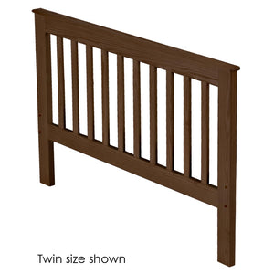 Headboard, Mission Style, Queen Size. Choose from 6 Colours, 3 Widths & 3 Heights.