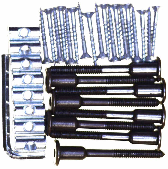 Bed hardware kit. 70mm connector bolts.