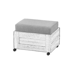 Replacement components for Crate Designs storage ottoman