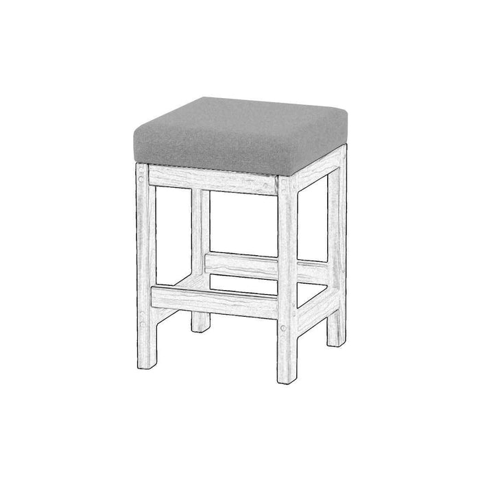 Upholstered components for Kitchen stool - Foundation fabric