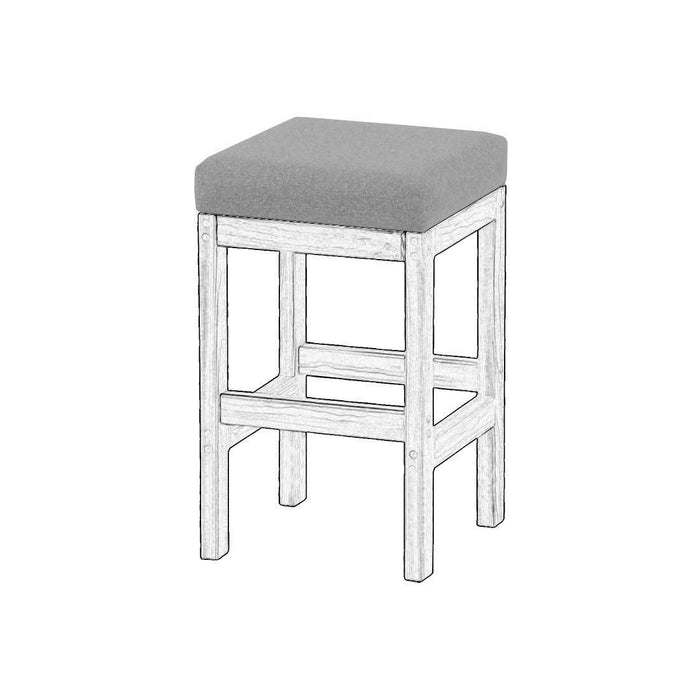 Upholstered components for Bar stool - Foundation fabric